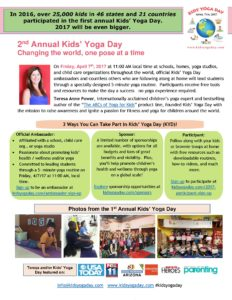 2017 Kids Yoga Day General One Page
